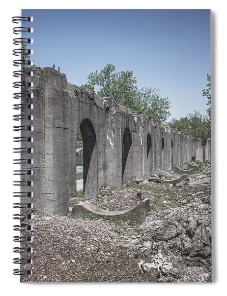 Into The Ruins 2 Spiral Notebook