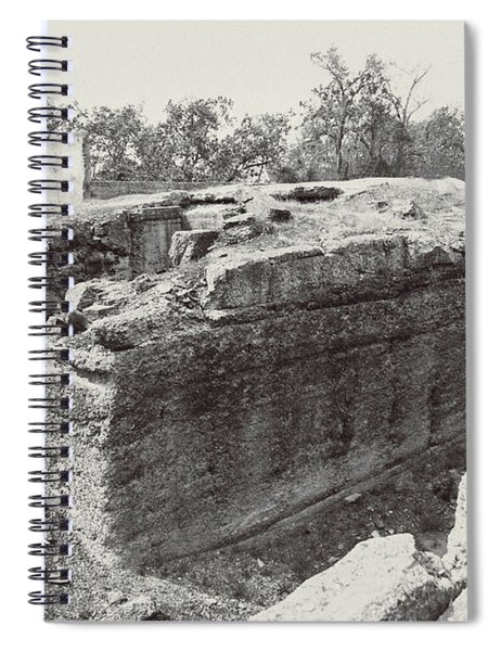 Into The Ruins 5 Spiral Notebook