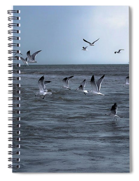 Into The Storm Spiral Notebook