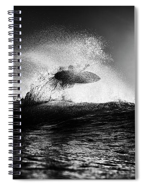 Into The Sun Spiral Notebook