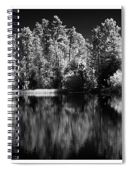 Invisible Reflection Spiral Notebook