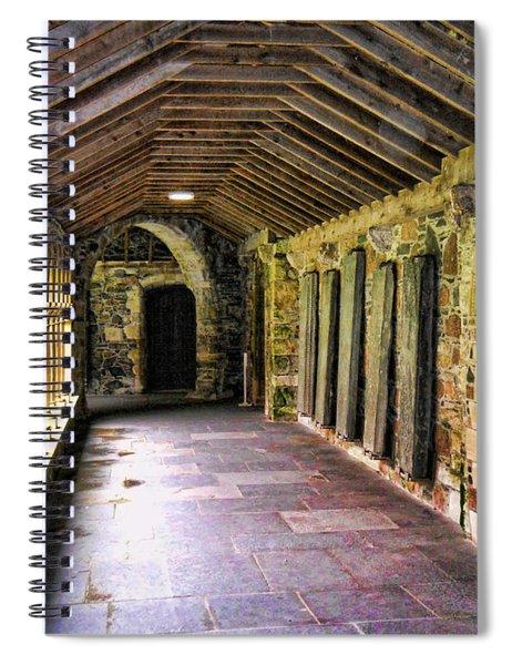 Arched Invitation Passageway Spiral Notebook