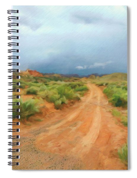 Invitation To Follow Spiral Notebook