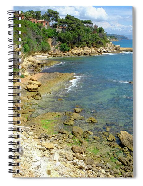 Inviting Waters Spiral Notebook