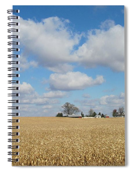 Iowa 3 Spiral Notebook