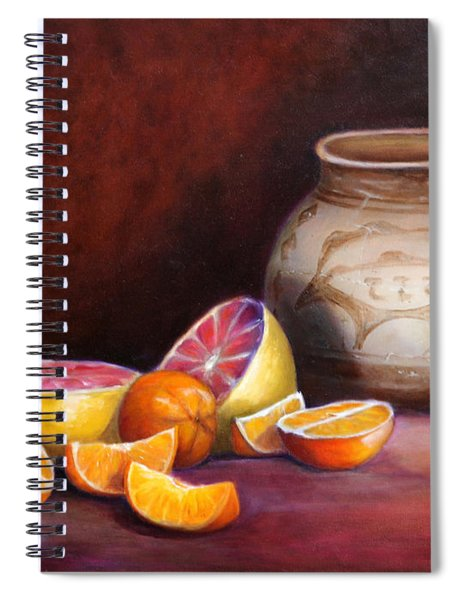Iranian Still Life Spiral Notebook
