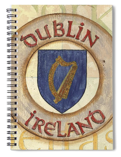 Ireland Coat Of Arms Spiral Notebook