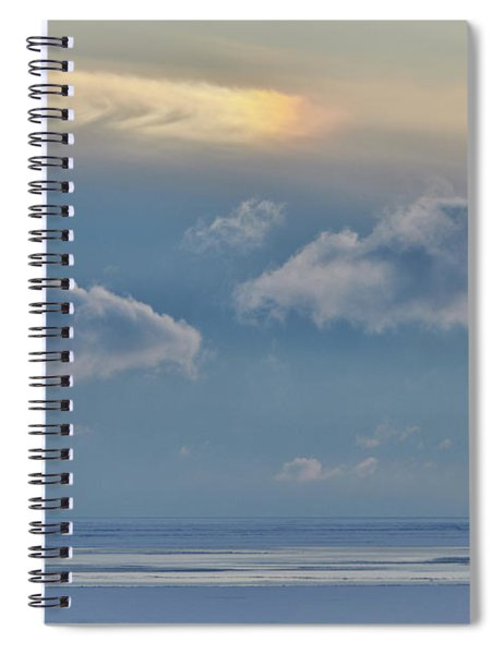 Iridescence Horizon Spiral Notebook