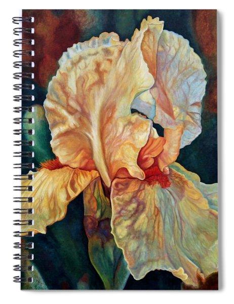 Iris 3_2017 Spiral Notebook