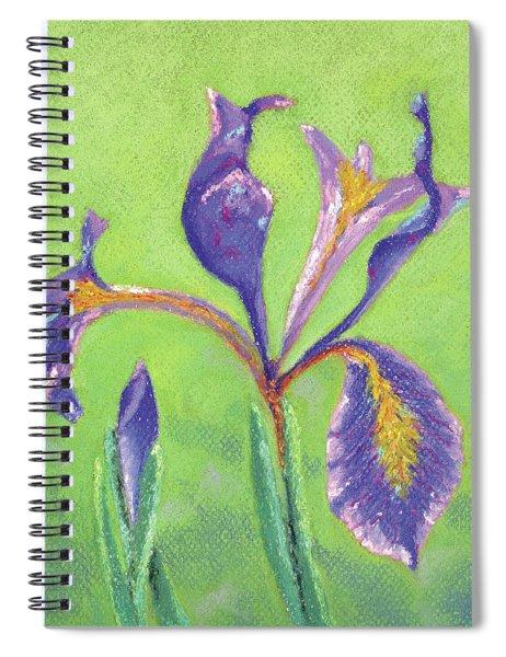 Iris For Iris Spiral Notebook