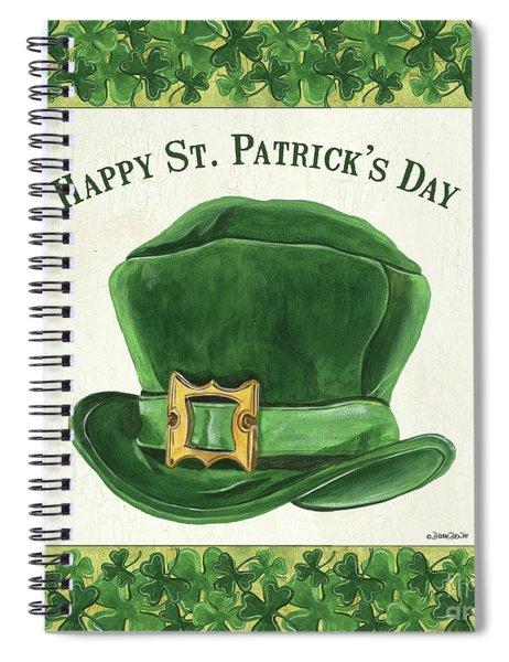 Irish Cap Spiral Notebook