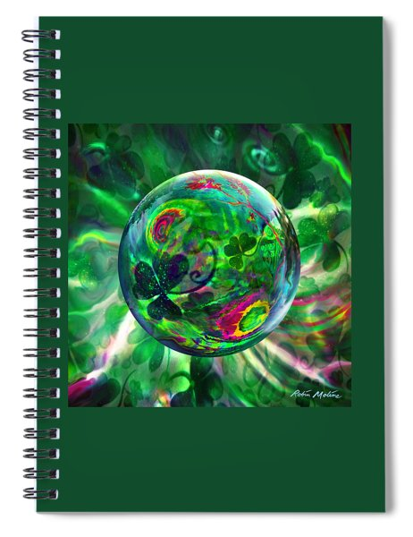 Irish Charms Spiral Notebook