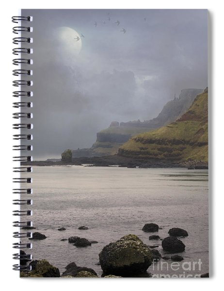 Irish Coastline Spiral Notebook