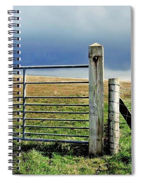 Irish Field Spiral Notebook