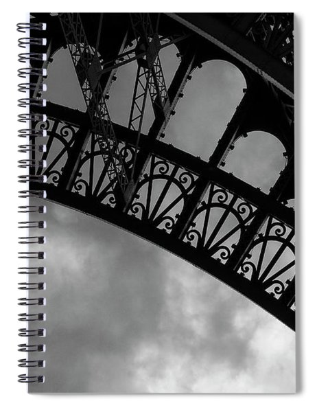 Iron Lattice 2 Spiral Notebook