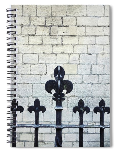 Iron Railings Detail  Spiral Notebook