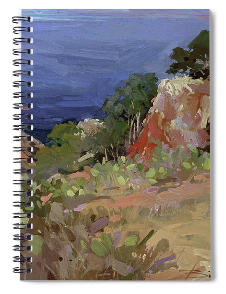 Ironwoods At Goat Harbor Spiral Notebook