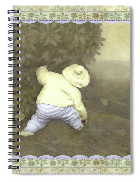Is Bunny In Bushes? Spiral Notebook