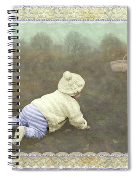 Is Bunny In The Basket? Spiral Notebook