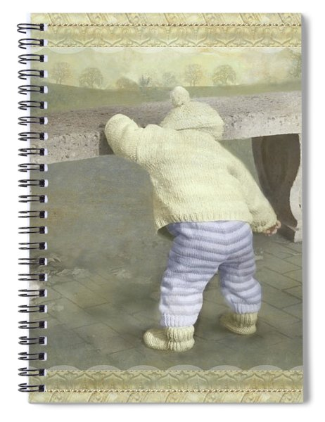 Is Bunny Under The Bench? Spiral Notebook