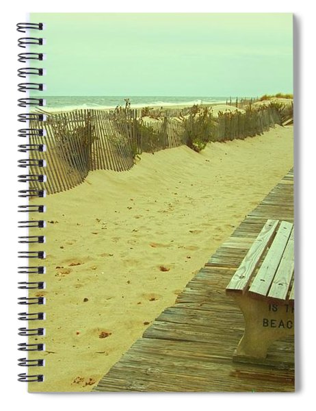 Is This A Beach Day - Jersey Shore Spiral Notebook