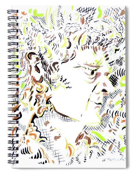 Isaac Newton Spiral Notebook