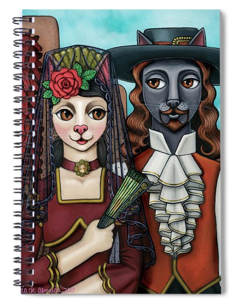 Cats Of Spain Spiral Notebook