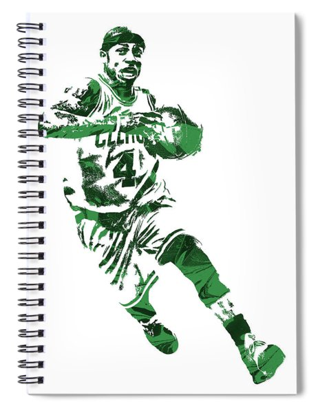 Isaiah Thomas Boston Celtics Pixel Art 5 Spiral Notebook