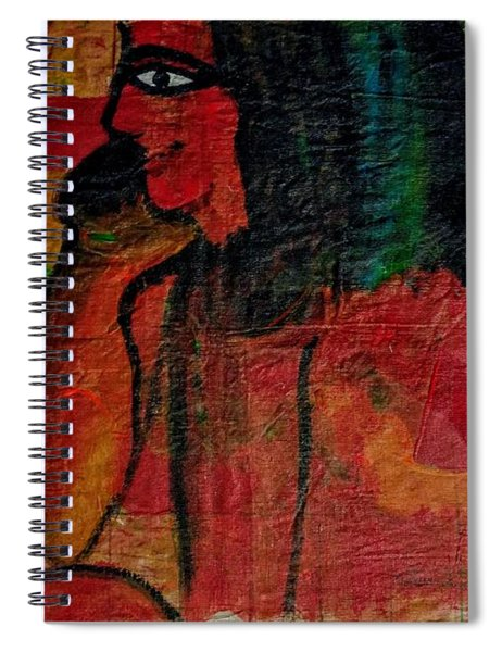 Isis, Egyption Queen Of Earth Spiral Notebook
