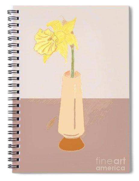 Island Daffodil Spiral Notebook