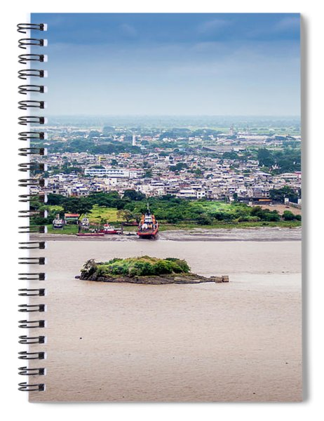Island In The River Spiral Notebook