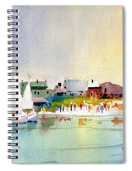 Island Light Spiral Notebook