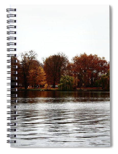 Island Of Trees Spiral Notebook