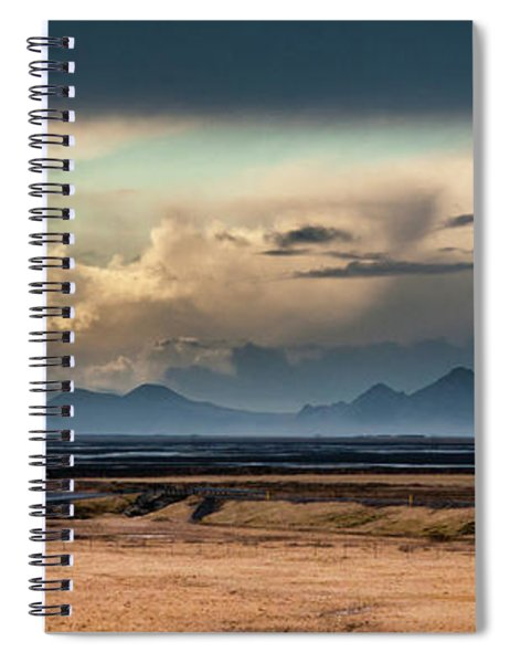 Islands In The Sky Spiral Notebook