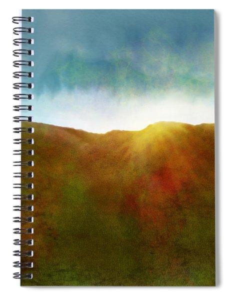It Began To Dawn Spiral Notebook by Antonio Romero