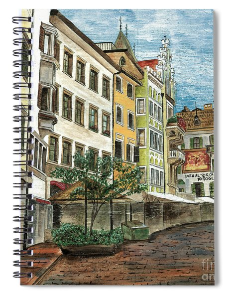 Italian Village 1 Spiral Notebook