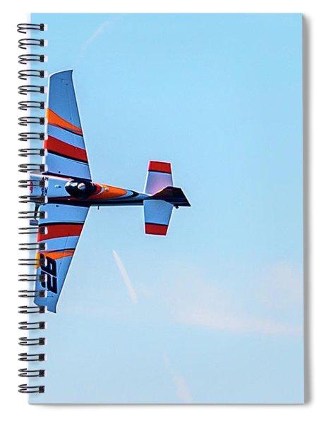 It's A Bird And A Plane, Red Bull Air Show, Rovinj, Croatia Spiral Notebook