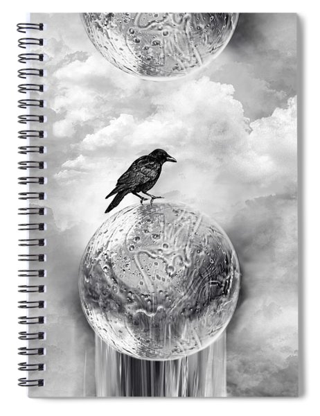 It's A Crow's World Spiral Notebook