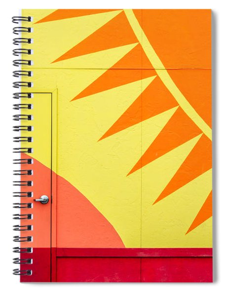 It's A Sunshine Door Spiral Notebook