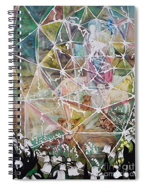Flying Lamb Productions                Its Friday - Sundays Coming Spiral Notebook