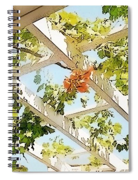 It's Gonna' Be A Bright Sunshiny Day Spiral Notebook