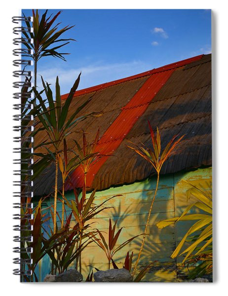 Spiral Notebook featuring the photograph It's My Party by Skip Hunt