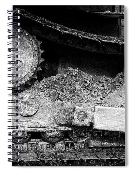 Ivan Caterpillar Track Spiral Notebook