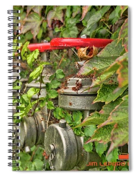 Ivy Standpipe Spiral Notebook
