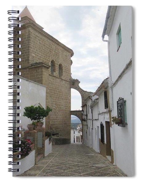 In The Centre Of Iznajar Spiral Notebook
