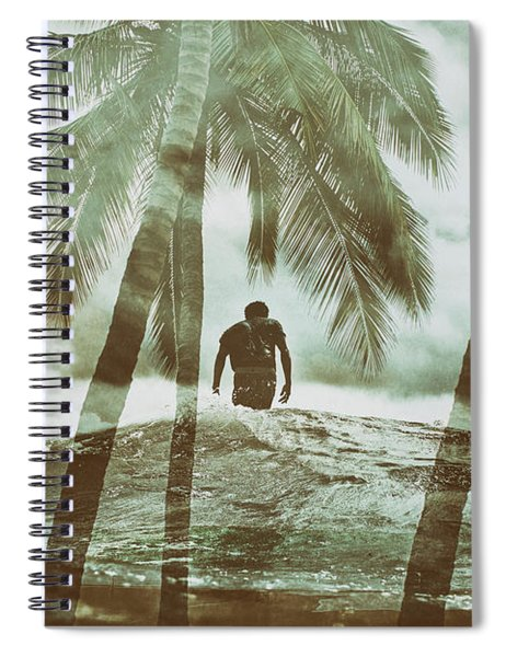 Izzy Jive And Palms Spiral Notebook