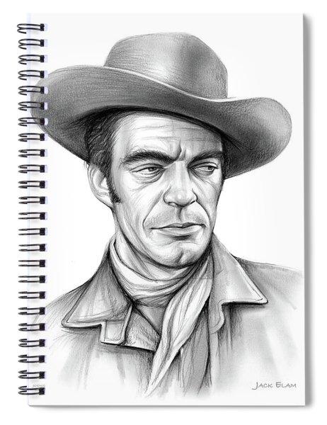 Cowboy Jack Elam Spiral Notebook