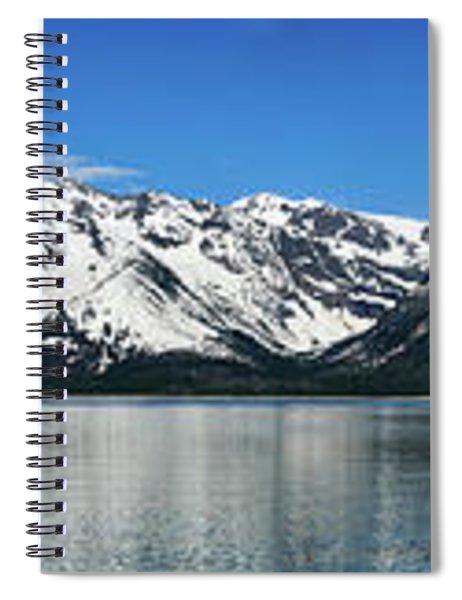 Jackson Lake Teton Panorama Spiral Notebook