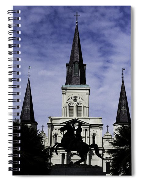 Jackson Square - Color Spiral Notebook