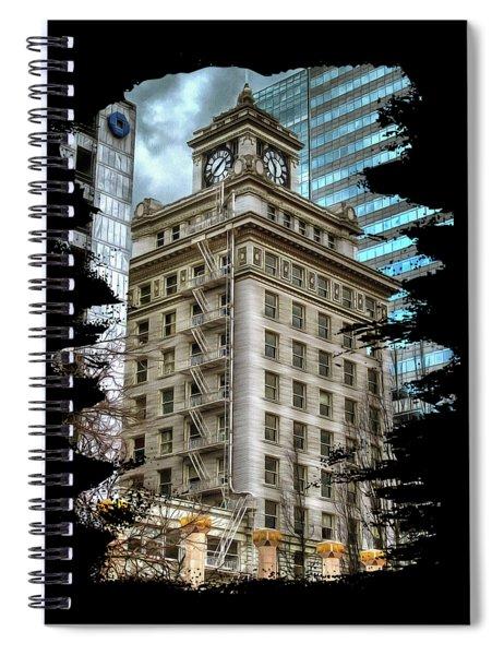 Jackson Tower Portland Oregon Spiral Notebook